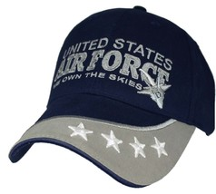 Us Air Force We Own The Skies Officially Licensed Military Hat Baseball Cap - $29.99