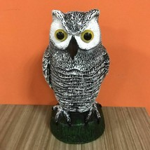Owl Statue Outdoor Decoration Simulated Hunting Bait Birds Rats Threat F... - $20.53
