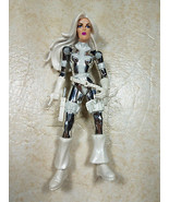 1998 Toy Biz Sneak Attack Silver Sable Spiderman Bug Busters Series w/Kn... - $11.99