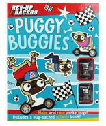 Make Believe Ideas Puggy Buggies Rev-Up Racers Book The Fast Free Shipping - $34.95