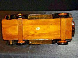 Wooden Toy Milk Truck AA19-1569 Vintage image 9