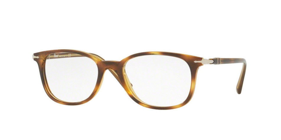 1555780b1aae5 Persol Men Squared Eyeglasses PO3183V 1043 Havana Frame Demo Customisable  Lens -  97.02
