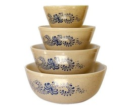 COMPLETE SET PYREX HOMESTEAD MIXING BOWLS - $98.99