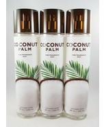 (3) Bath & Body Works Coconut Palm Full Size Fragrance Mist Spray 8oz New - $32.58