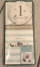 NEW-Baby Memory & Milestone Set First Year - $7.81