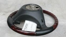 03-06 Porsche Cayenne 955 Wood/ Blk Leather 3 Spoke Steering Wheel 7L5419091 image 12