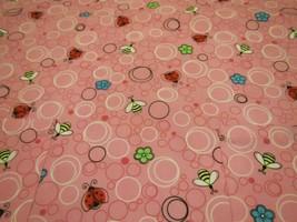 EUC Uniform Nurse Scrubs Smock - XS - Pink Spring Lady Bugs rm25 - $9.95