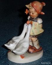 """Goose Girl"" Hummel Figurine #47 3/0 TMK3 - Little Girl With Flowers And... - $106.69"