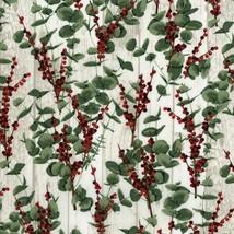 Clearance Sale~Let it Sparkle~Eucalptus & Berries Cotton Fabric by RJR F... - $11.35