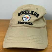 Pittsburgh Steelers football hat tan one size - $14.85