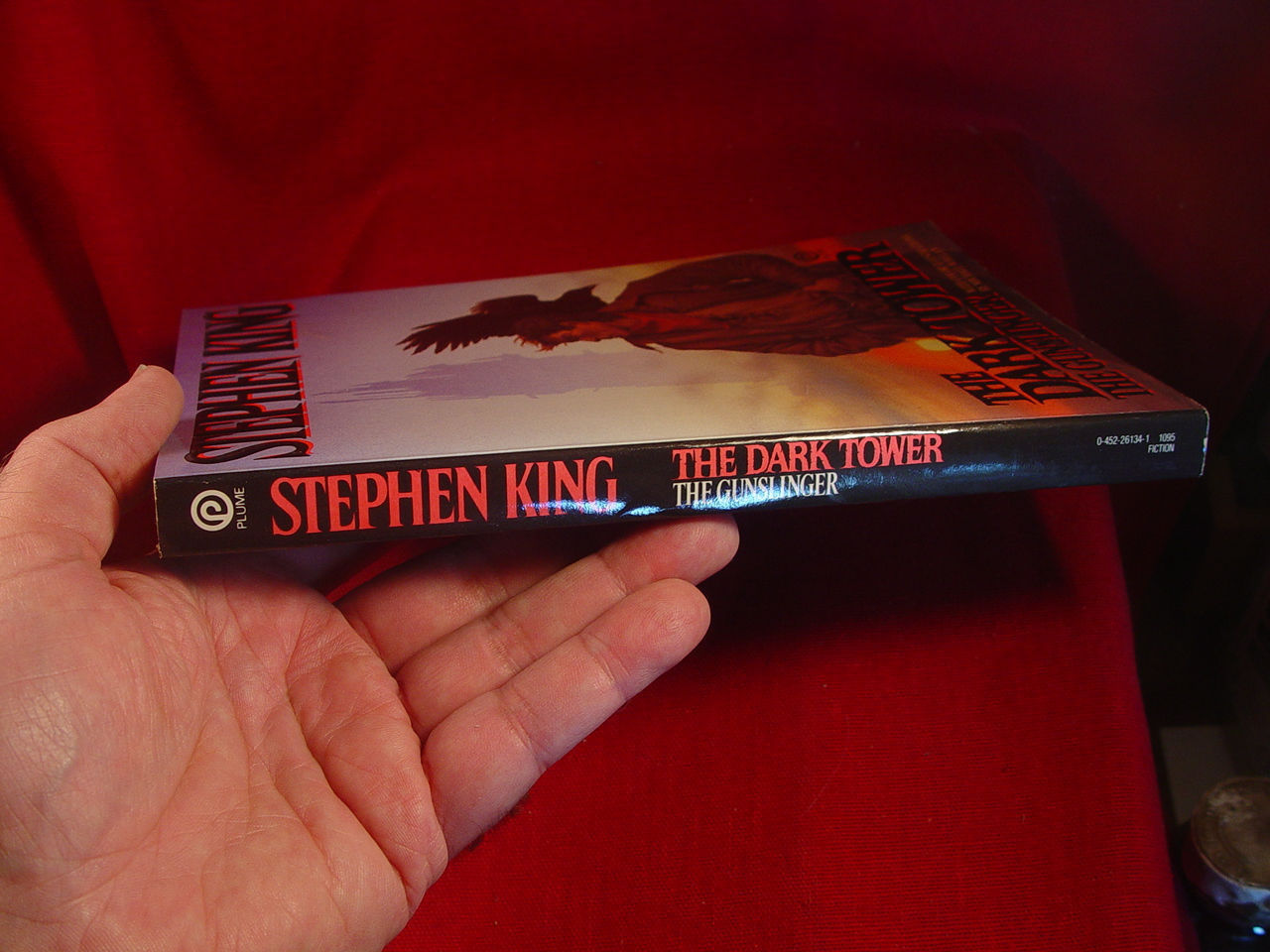 Stephen King DARK TOWER I, THE GUNSLINGER, 1988 1st Plume Edition  EXCEPTIONAL