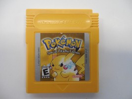 Pokémon: Yellow Special Pikachu Edition(Nintendo Game Boy, 1999) cart on... - $29.99