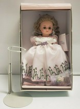 """MADAME ALEXANDER 2001 WISTERIA FLOWER GIRL 8"""" DOLL 30370 With Stand - $54.45"""