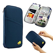 GEARONIC TM Travel Wallet Slim Organizer Theft Proof Money Phone Passpor... - £6.68 GBP