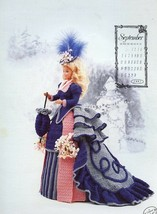 Miss September 1993 Centennial Outfit For Barbie Doll Annie's Crochet Pattern - $2.67