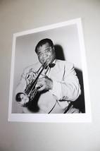 Louis Armstrong Restrike Music Publicity Still - $10.80