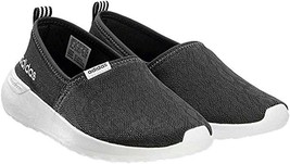 adidas Womens Cloudfoam Lite Racer Black Slip-on Sneaker Lace Shoes Size 6 - $35.28