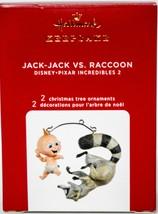 Hallmark  Jack-Jack vs. Raccoon  Pixar Incredibles 2  Keepsake Ornament ... - $24.74