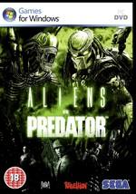 "Aliens Vs Predator ""Intensely Terrifying Stuff"".Hunter, Survivor, Prey. New Pc - $10.40"