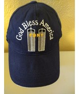 FDNY Ground Zero 9/11 Baseball Cap New York WTC Twin Towers God Bless Am... - $31.64