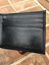 Levi's Men's Black Bifold Leather Wallet RFID Blocking image 3