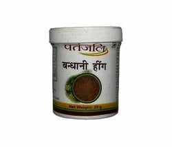 Patanjali BANDHANI HING ASAFOETIDA POWDER  FOR Digestion 25gm 100% pure - $5.45+