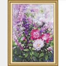 Paint By Number Kit Meadow Wild Flowers Dandelion DIY Picture 40x50cm Ca... - $13.36