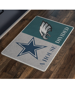 Philadelphia Eagles Dallas Cowboys Welcome Doormat - $28.56