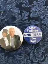 Lot of 18 Political Buttons Pinback Nixon Johnson Obama Carter Dole Bush Agnew image 9