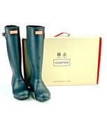 Hunter Womans Round Toe Authentic Original Tall Rain Boots Black Size US 9 - $64.34