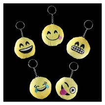 keyring yellow plush emoji, random picked, keyfob, keychain new keychain key rin