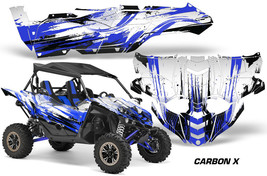 UTV Decal Graphic Kit Side By Side Wrap For Yamaha YXZ 1000R 2015-2018 CARBONX U - $499.95