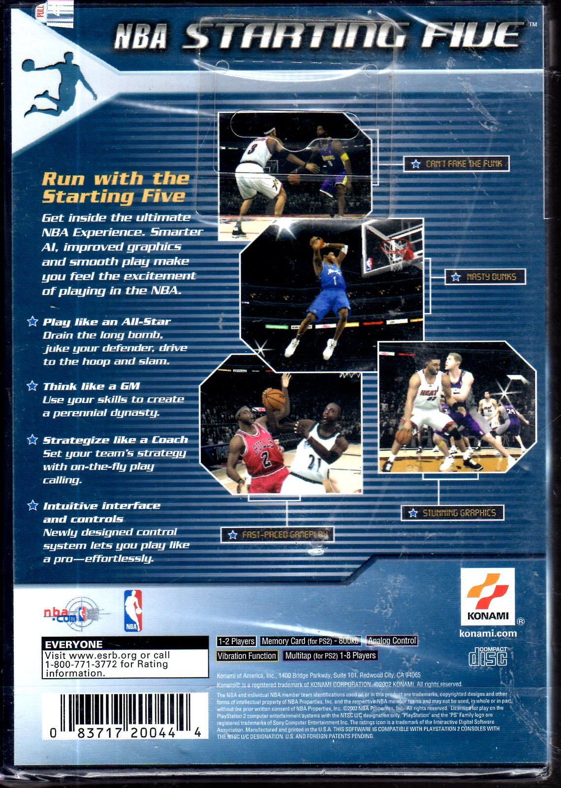 PlayStation 2 - NBA Starting Five