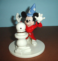 Lenox Disney Mickey Mouse Sorcerer Lighted Figurine Globe Lights Up! New - $49.90