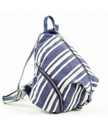 Rebecca Minkoff Julian Canvas Backpack - Blue (Retail price - $275) - $98.01