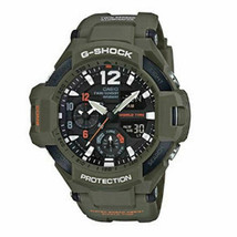 Casio G-Shock Gravitymaster GA1100KH-3A Olive Wristwatch for Men with Bl... - $247.50