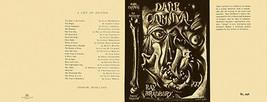 Ray Bradbury -dark Carnaval Facsímil Dust Chaqueta para 1º Gb Edición - $21.41