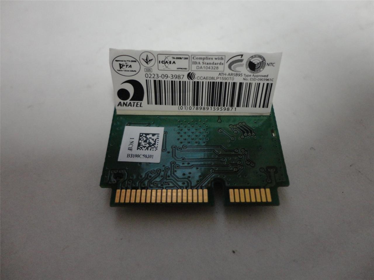 "Dell Inspiron 15.6"" N5030 OEM WiFi Wireless Card AR5B95 DNXA-95-D1 2P1GR New"