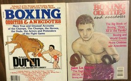 BOXING ODDITIES & ANECDOTES lot of (2) magazines  - $9.89