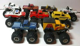 Vintage Matchbox 1/64 Monster Trucks 1986 Lot of 9 Bigfoot So High FLY-N-HI - $99.99