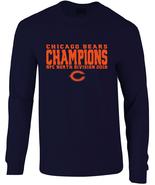 Bears 2018 NFC North Division Champions Long Sleeve T-Shirt - $25.99+