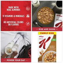 Kellogg's Special K Breakfast Cereal Vanilla and Almond Family Size 18.8 Oz - $15.88