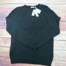 Grande Calvin Klein Negro Cableknit - $49.30
