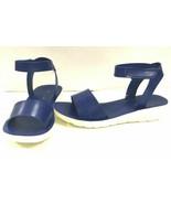 Bamboo Women's Sandals Natasha 02, Blucrp, US 6.5 - $22.76