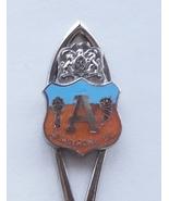 Collector Souvenir Spoon Canada BC Armstrong Cloisonne Emblem - $6.99