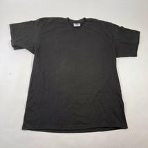 Vintage Lee Tee T Shirt da Uomo L Nero Cotone Girocollo Manica Corta Mad... - $13.88