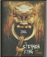 VINTAGE 2006 Stephen King Library Desk Calendar - $19.79