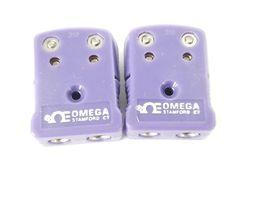 2 NEW SETS OF OMEGA 310 PURPLE MALE & FEMALE PLUGS image 3