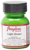Angelus Acrylic Paints 1oz Color Light Green - $6.76