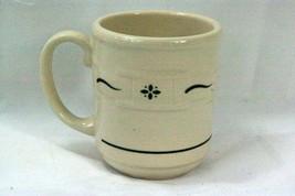 Longaberger Pottery 2008 Woven Traditions Green Mug - $8.81